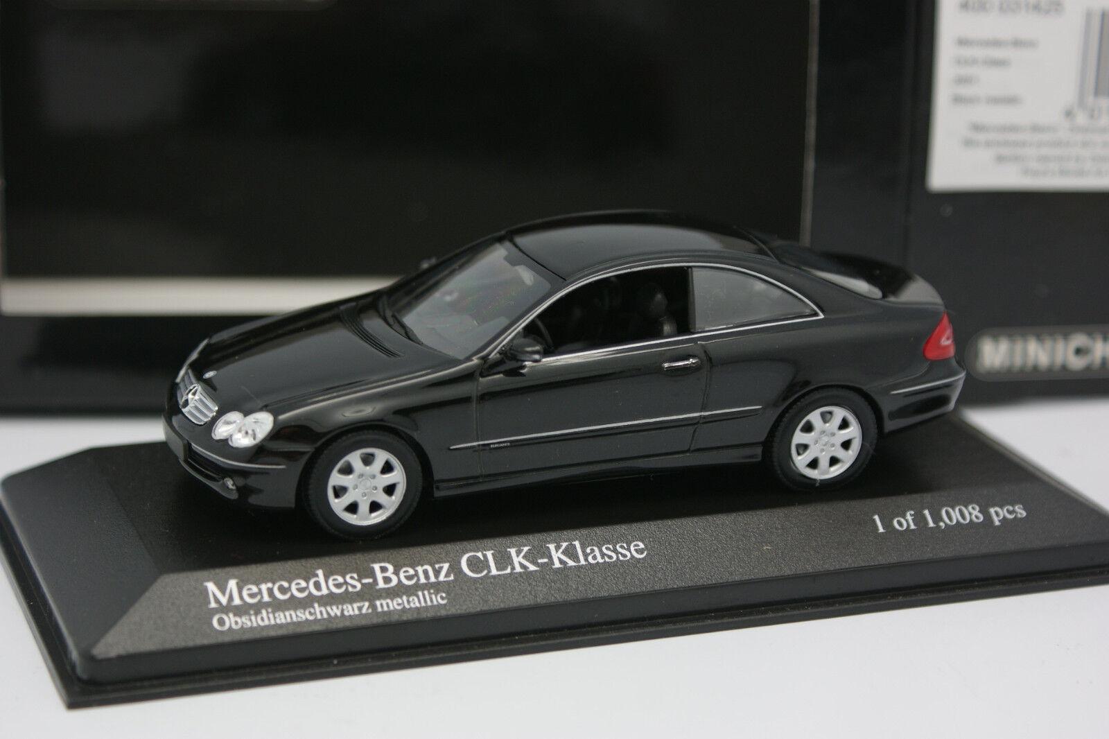 Minichamps 1 43 - Mercedes CLK Coupe Noire