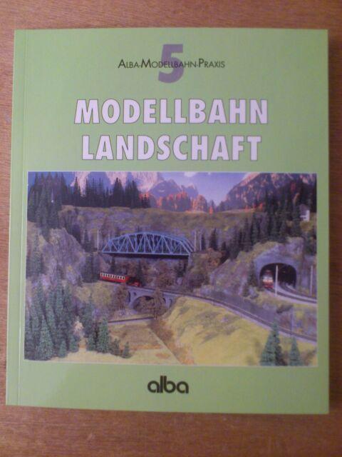 Modellbahn Landschaft Band 5 Alba Modellbahn-Praxis.