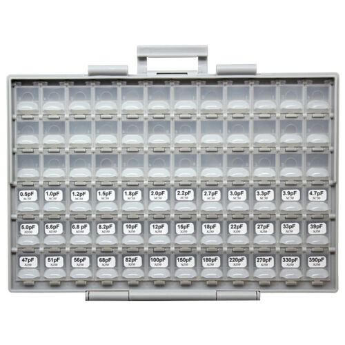 New SMD//SMT 0805 capacitor kit in BOX-ALL 102value 102Vx50pcs X7R NPO Y5V YAGEO
