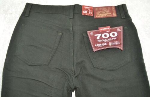 Pantalone uomo fustagno caldo CARRERA jeans 46 48 50 52 54 56 58 60 62 verde