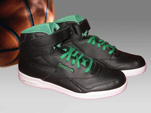 Nouveau Vintage Reebok Exofit Classic Hi Ultralite Ltr Homme High Top Baskets UK 8