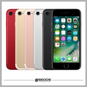 apple iphone 7 32gb rot red ohne vertrag top handy smartphone wie neu ebay. Black Bedroom Furniture Sets. Home Design Ideas