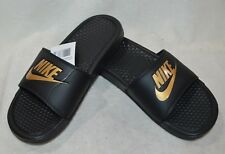 buy online c0efa d1ea4 item 4 Nike Benassi JDI Black Metallic Gold Men s Slides Sandals-  7 8 9 10 11 13 14 NWB -Nike Benassi JDI Black Metallic Gold Men s Slides  Sandals- ...