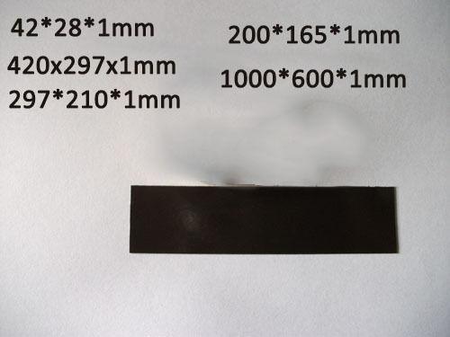 1pcs Magnetic Sheets 1mm Thickness For Teaching Kit Fridge Magnet Craft Flexible