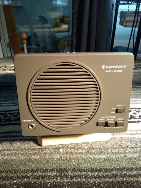 Kenwood Sp 950 External Amateur Ham Radio Speaker For Sale Online Ebay