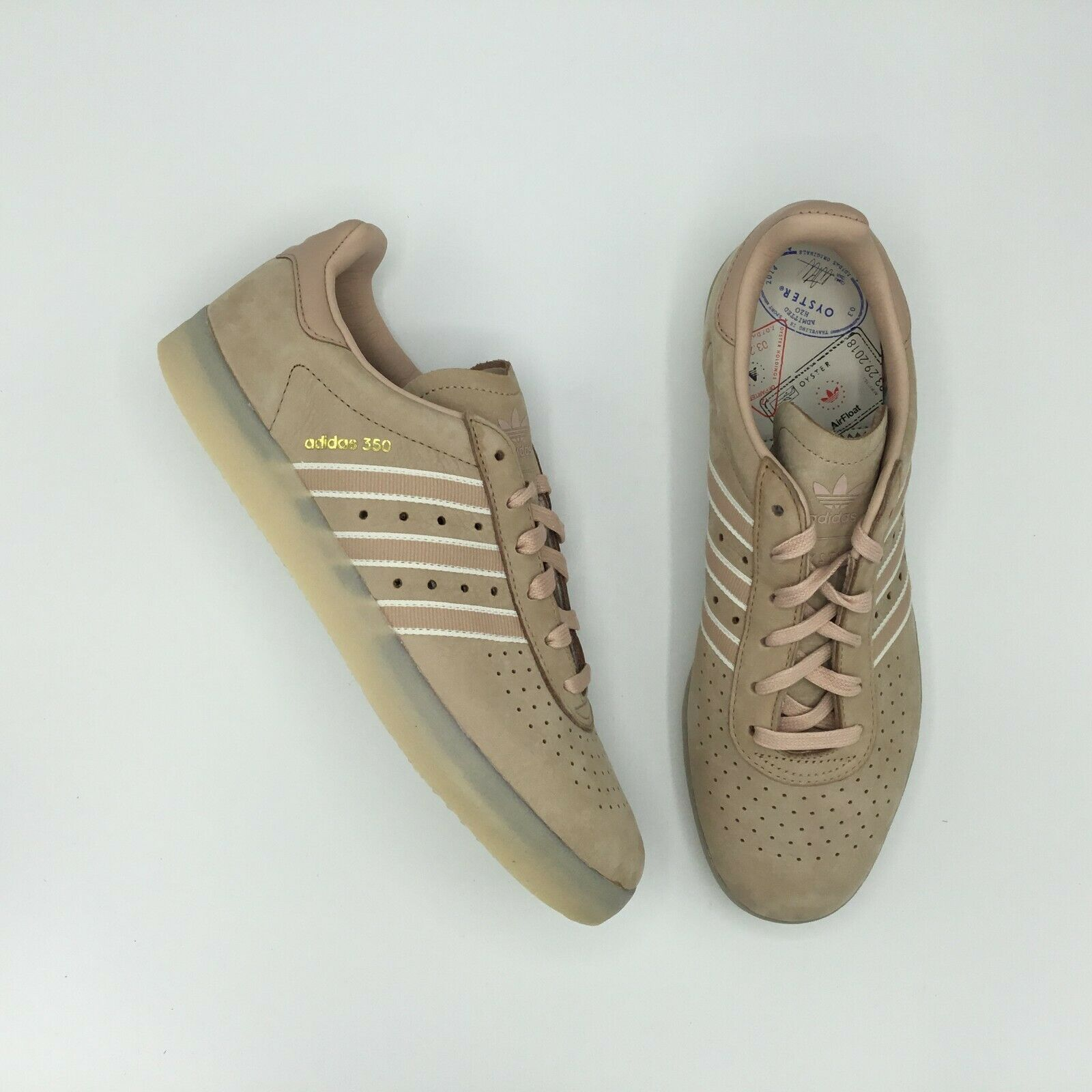 SALE ADIDAS 350 OYSTER HOLDINGS DB1976 ASH PEARL METALLIC  oro DIO  i nuovi marchi outlet online