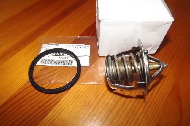 SUBARU  THERMOSTAT AND O RING - GENUINE NEW IMPREZA WRX FORESTER LIBERTY OUTBACK
