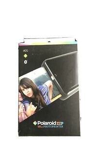 Polaroid ZIP Mobile Printer w/ZINK Zero Ink Printing Tech  iOS & Android Support