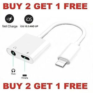 Dual-Adapter-3-5mm-Headphone-amp-Charger-2-in-1-Adapter-for-iPhone-7-8-X-XR-XS-11