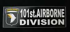 2 101ST AIRBORNE DIVISION BUMPER STICKER DECAL ZAP US ARMY VETERAN GIFT EAGLE