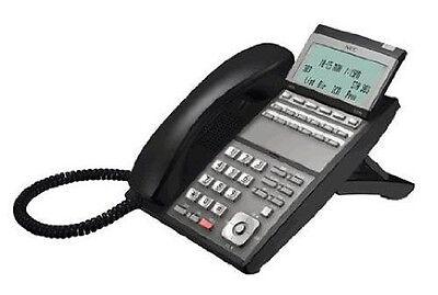 BK NEC DLV XD Telephone IP3NA-12TXH TEL Black Excellent 90 Day Warranty Z-Y BK