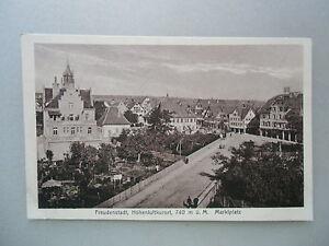 Ansichtskarte Freudenstadt um 1910?? Marktplatz Schwarzwald - Eggenstein-Leopoldshafen, Deutschland - Ansichtskarte Freudenstadt um 1910?? Marktplatz Schwarzwald - Eggenstein-Leopoldshafen, Deutschland