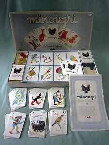Ab797 Miro Company Jeux Societe Minougri Theme Chat Dessin Violette Didier 1952 Cj0rqhu7-07155725-838106887