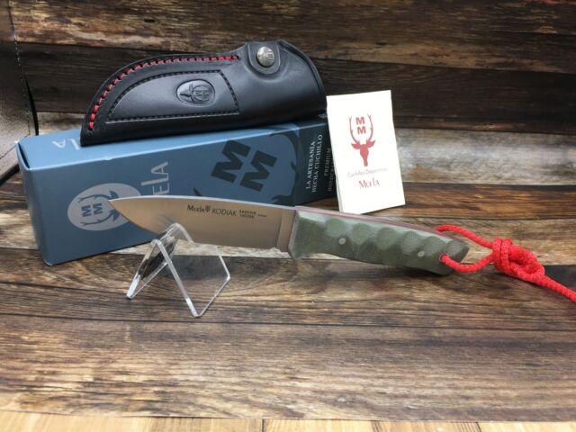 Couteau Cuchillo Muela Peccary 8.O Micarta coltello. Messer Knife