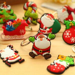 Keyfob-Hanging-Pendant-Key-Buckle-10pcs-Gift-Bag-Holder-Christmas-Keychain-YI