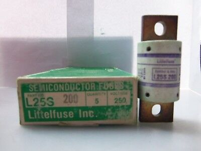 LITTLEFUSE L25S 80A 250V SEMICONDUCTOR FUSE