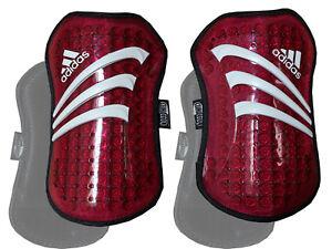Adidas-predator-tpr-espinilleras-rojo-protectores-futbol-Protektor-shinguard