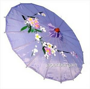 Lavender Asian Parasol 22in 157-2 S-2198