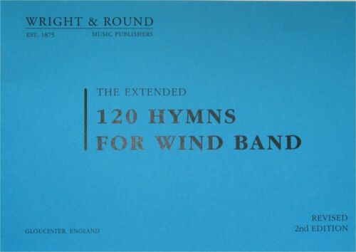 120 Hymns For Wind Band Sheet Music Part A4 LARGE PRINT Various Instrument *NEW*