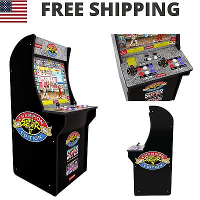 Street Fighter 2 Arcade Machine Retro Original Artwork Cabinet 3