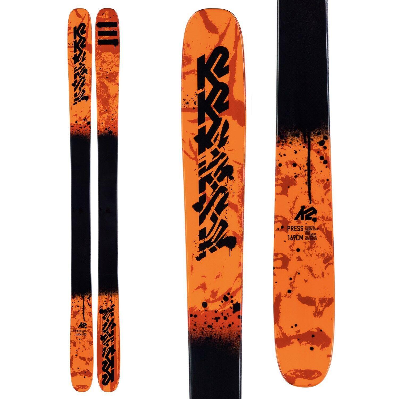 K2 Presseskis 2020 - Herren Twin Tip Skis - 169 cm