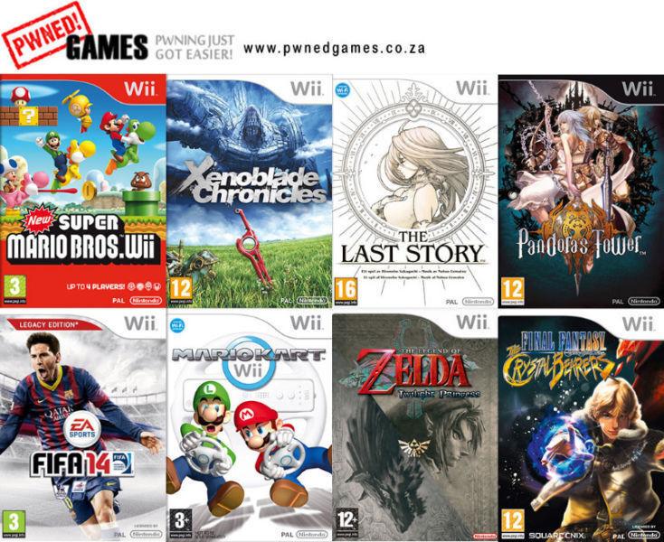 Wii Games [P-R] º°o Buy o°º Sell º°o Trade o°º