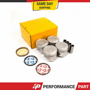 Piston Ring Set Fits 93-96 Mitsubishi Mighty Max 2.4L L4 SOHC 8v