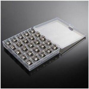 25pcs-Metall-Naehen-Spulen-Kit-Naehmaschinen-Spule-Greifer-Haushalt-Zubehoer