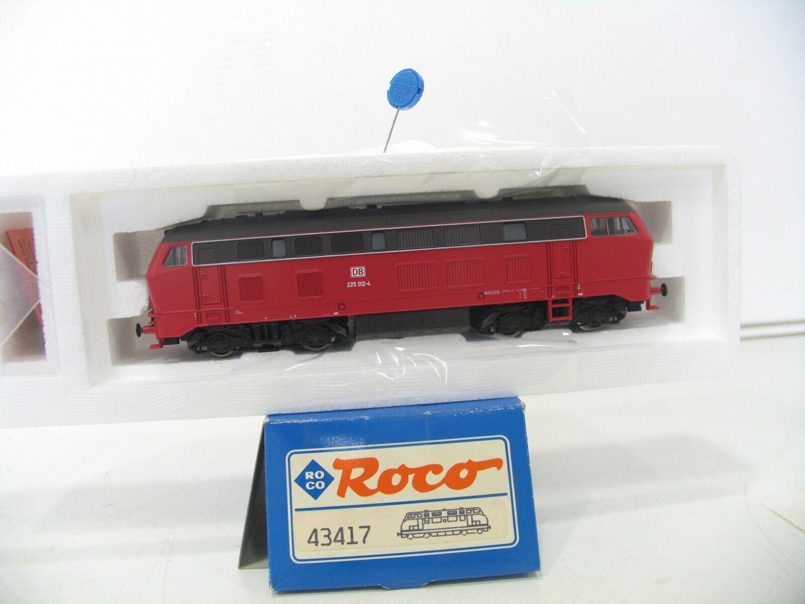 ROCO 43417 DIESELLOK BR 225 NEU ROT der DB    NH1671
