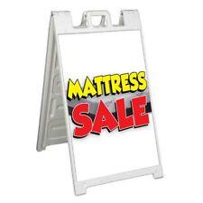 Mattress Sale Signicade 24x36 Aframe Sidewalk Sign Banner Decal Beds Furniture