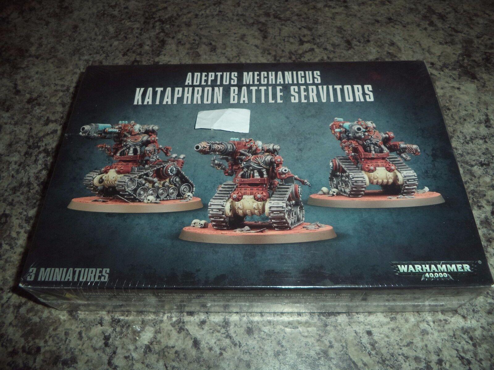 Kataphron Battle Servitors - Warhammer 40k 40,000 Games Workshop Model New