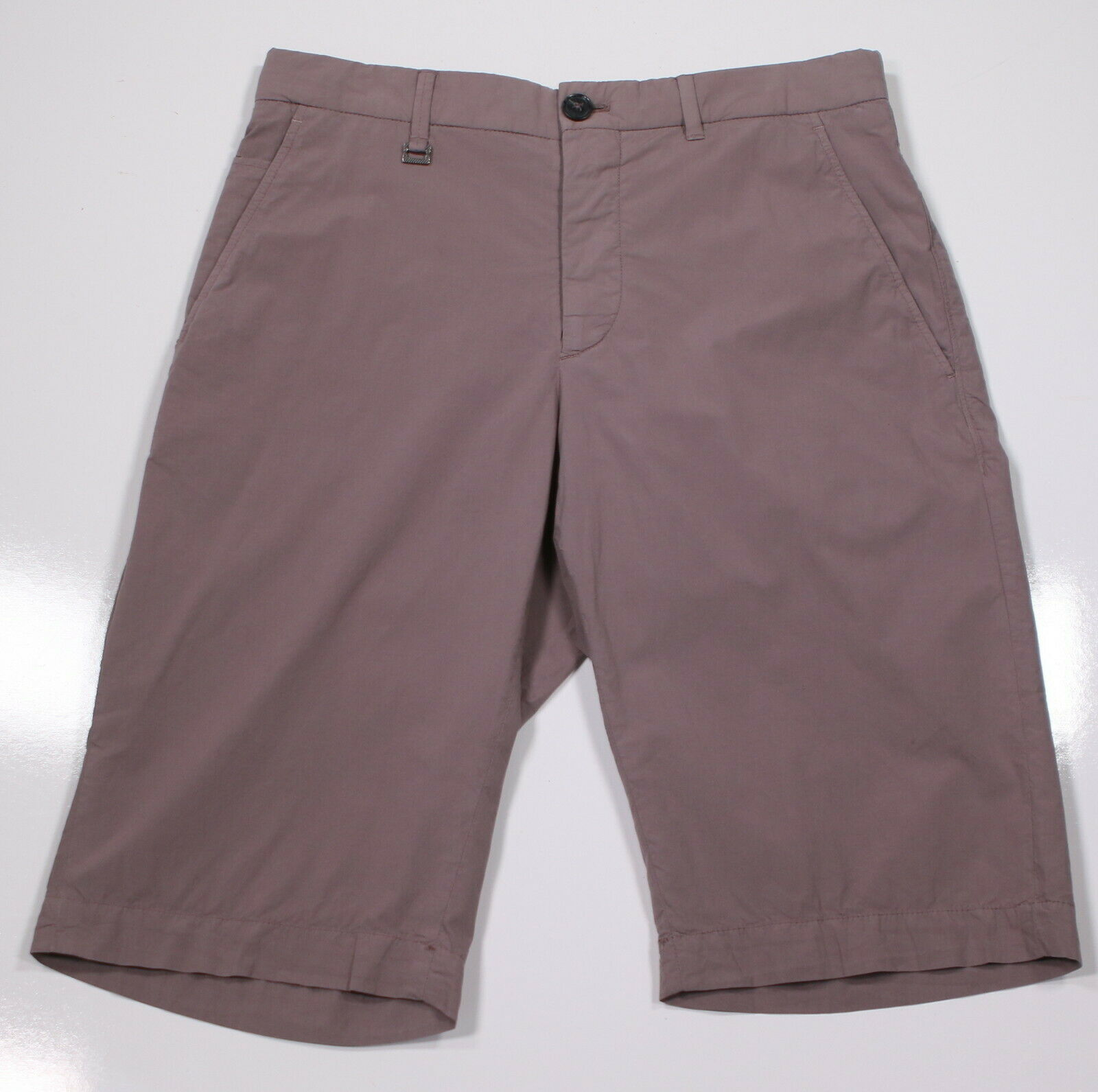 ERMENEGILDO ZEGNA  Recent Cotton Stretch Flat Front Shorts 28