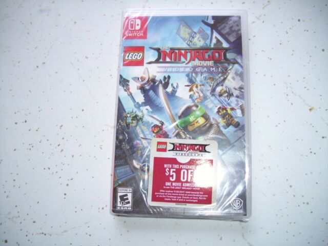 The Lego Ninjago Movie Video Game Switch 2017 For Sale Online Ebay