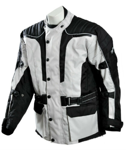 S TUFF GEAR MOTORCYCLE TEXTILE JACKET ALL WEATHER SIZE