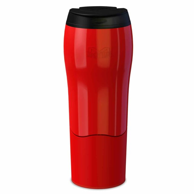 Dexam Mighty Mug Red Travel Mug 470ml No Spill Design Leakproof Lid New Boxed