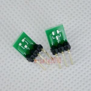 5pcs-New-Double-Side-SMD-SOT23-3-to-DIP-SIP3-Adapter-PCB-Board-DIY-Converter-E42