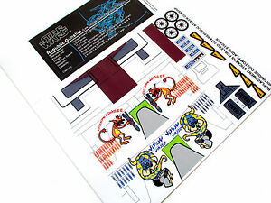 Star Wars Die Cut Replacement Stickers For Lego 7676 Republic