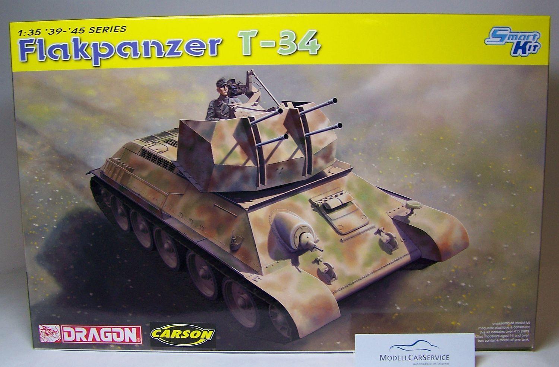 Dragon 1 35  6599 Flakpanzer T-34 (EXTRACTION TANK), German Wehrmacht
