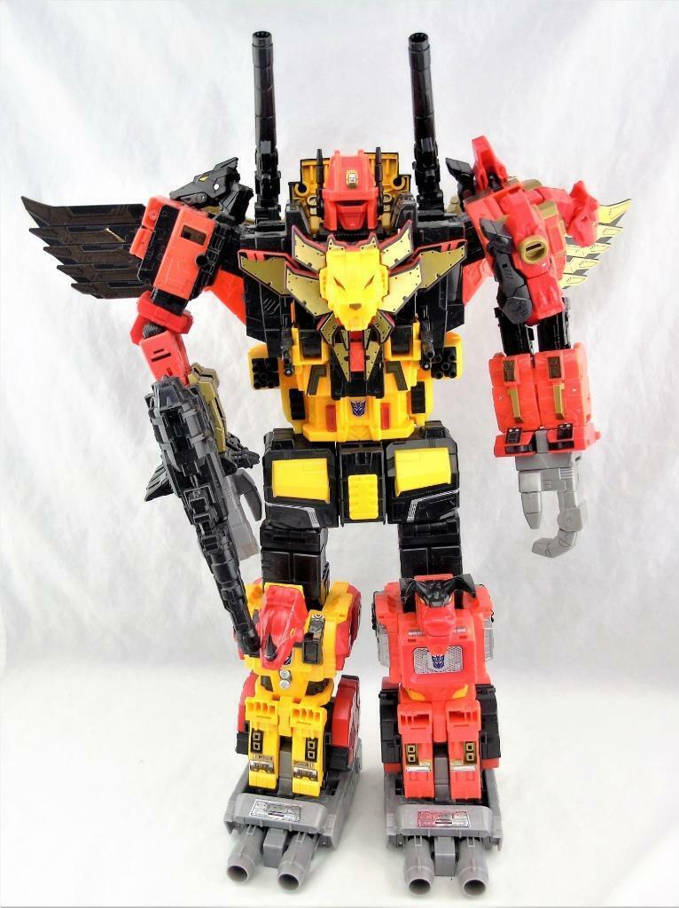 Transformers Generations Puissance des primes POTP Titan Classe preaking complet