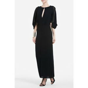 NEW-BCBG-MAX-AZRIA-WOVEN-034-LUCE-034-STUD-EMBELLISHED-IMS6P135-NO-BELT-GOWN-XS
