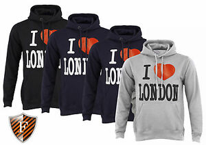 New-Mens-Womens-Pullover-I-Love-London-Hoody-Hoodie-Hooded-SWEATSHIRT-SOUVENIR