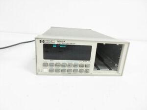 HP 8153A LIGHTWAVE MULTIMETER MAINFRAME ~ AGILENT