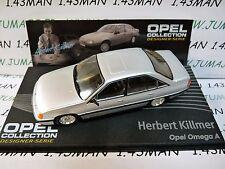 OPE124 1/43 IXO designer serie OPEL collection : OMEGA A H.Killmer