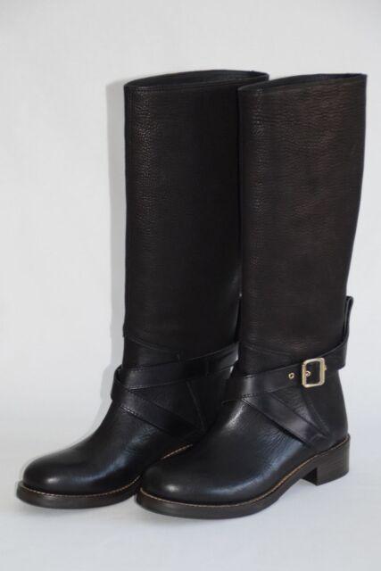 7d59d710d89 NEW Hugo Boss Orange Womens Boots Biker Boots Size 39 (UK 6) RRP