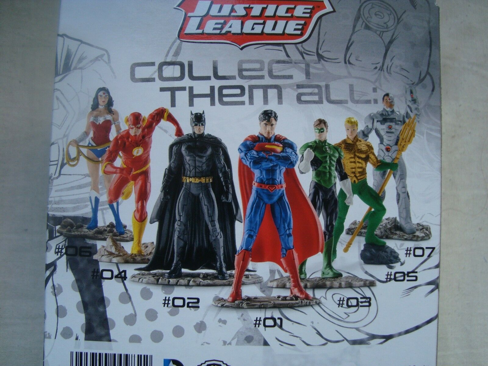 SUPER HEROS IN SCHACHTEL CM SCHLEICH BATMAN JUSTICE LIGA 10 CM SCHACHTEL AUF BASIS b3ff06