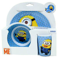 Despicable Me The Minions 3pc Dining Gift Set Carl Stuart Dave