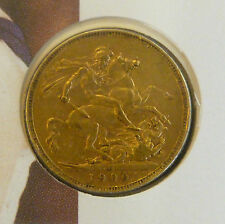 Victoria Gold Sovereign on Cover Monarchs of 20th Century Year 2000 Millennium