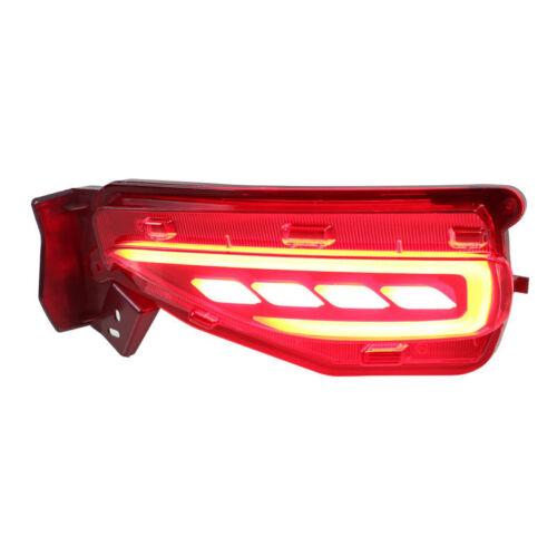2pcs LED Rear Fog Light for Toyota Fortuner 2015 2016 Tail Bumper Warning Lights