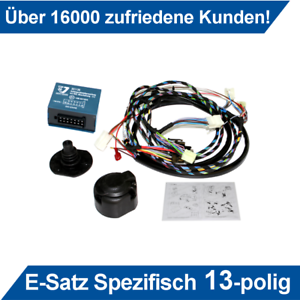 ab 17 Elektrosatz spez 13pol kpl Phase 2 Dacia Sandero Stepway 2