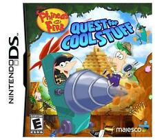 NEW DS Phineas and Ferb: Quest for Cool Stuff (Disney, Nintendo DS, 2013)